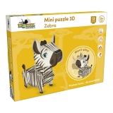 Mini puzzle 3D Zebra Noriel