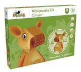 Mini puzzle 3D Cangur Noriel