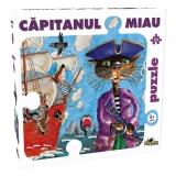 Puzzle Capitanul Miau 54 piese Noriel
