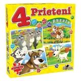 Puzzle 4  Prieteni mari 12, 24, 42, 56 piese Noriel