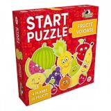 Puzzle 4 in 1 Fructe voioase Noriel
