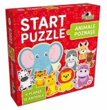 Animalute poznase Start Puzzle 4 in 1 Noriel