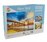 Puzzle 1000 piese Peisaje internationale New York Noriel