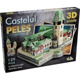 Puzzle 3D Castelul Peles, 129 piese Noriel