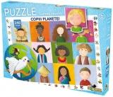 Puzzle Lumea Vesela Copiii planetei, 240 piese Noriel