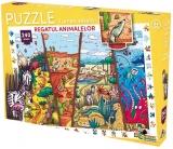 Puzzle Lumea Vesela Regatul animalelor, 240 piese Noriel