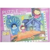 Puzzle cu povesti Scufita Rosie, 240 piese Noriel
