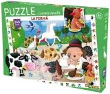 Puzzle Lumea Vesela La ferma, 240 piese Noriel