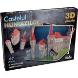 Puzzle 3D Castelul Huniazilor, 67 piese Noriel