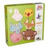 Origami animale Micul artist Noriel