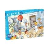 Puzzle Recunoastere Laboratorul, 48 piese Noriel