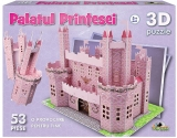 Puzzle 3D - Palatul printesei 53 piese Noriel