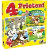 Puzzle 4 Prieteni mari Noriel
