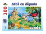 Puzzle 100 piese Alba ca Zapada Refresh Noriel