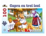 Puzzle 100 piese Capra cu Trei Iezi Noriel