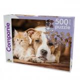 Puzzle Aminale de Companie, 500 piese Noriel