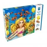 Puzzle Mica sirena, 100 piese Noriel