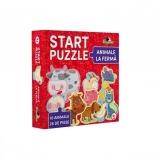 Puzzle Start Animale la ferma, 26 piese Noriel