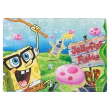 Puzzle 60 piese Coloreaza-ma Caraghiosul Spongebob
