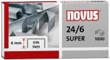 Capse 24/6 super 1000 bucati/cutie Novus