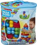 Primele cuburi de construit - 60 de piese Mega Bloks