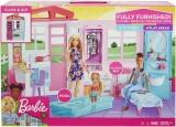 Papusa cu casa si accesorii Barbie