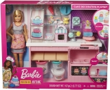 Papusa cu accesorii Cofetarie Barbie
