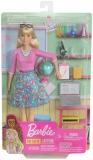 Papusa Cariere - Set profesoara Barbie
