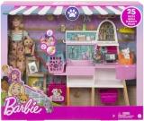 Set de joaca Magazin accesorii animalute Barbie