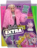 Papusa Extra Style Fluffy Pinky Barbie
