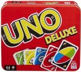 Carti de joc Uno Deluxe Mattel Games