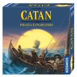 Joc de societate Catan Pirati & Exploratori extensie 3/4 jucatori Kosmos