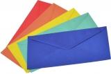 Plic DL color gumat 110 x 220 mm 80 g/mp 10 buc/set Romkuvert
