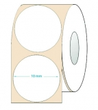 Etichete rotunde 10 mm albastre 12860 etichete/rola