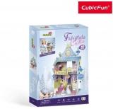 Puzzle 3D Castelul Basmelor 81 Piese Cubicfun