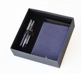 Set roller, pix Urban Royal, caseta cadou si notes cu clapa magnetica violet Parker