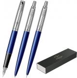 Set 3 instrumente de lux, stilou, pix, creion mecanic Jotter Royal Standard Royal Blue CT Parker