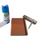 Pachet Pix IM Standard Brushed Metal GT Parker cu agenda + spray dezinfectant suprafete Dettol