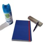Pachet Pix IM Standard Blue Metal CT Parker cu agenda + spray dezinfectant suprafete Dettol