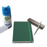 Pachet Pix IM Standard Silver CT Parker cu agenda + spray dezinfectant suprafete Dettol