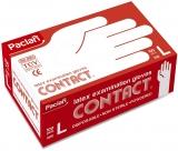 Manusi latex Contact, marimea L, 100 buc/set Paclan