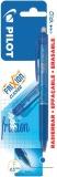 Roller Frixion Clicker, 0.5 mm, culoare albastru, in blister Pilot