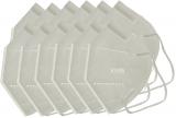 Masca faciala de protectie respiratorie FFP2 KN95, cu 5 straturi, ambalate individual, 10 buc/set