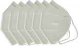 Masca faciala de protectie respiratorie FFP2 KN95, cu 5 straturi, ambalate individual, 5 buc/set