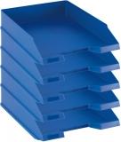Tavita corespondenta A4-C4 clasic albastru 5 buc/set Herlitz