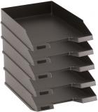 Tavita corespondenta A4-C4 clasic negru 5 buc/set Herlitz