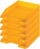 Tavita corespondenta A4-C4 clasic portocaliu 5 buc/set Herlitz