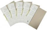 Dosar A4 din carton de incopciat 1/2, 25 buc/set EXTE