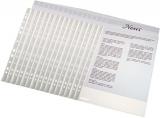 Folii de protectie, A4, Economy, 35 microni, standard, 20 seturi, 100 folii/set Esselte