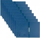 Dosar carton color, cu sina, albastru 50 buc/set Leitz